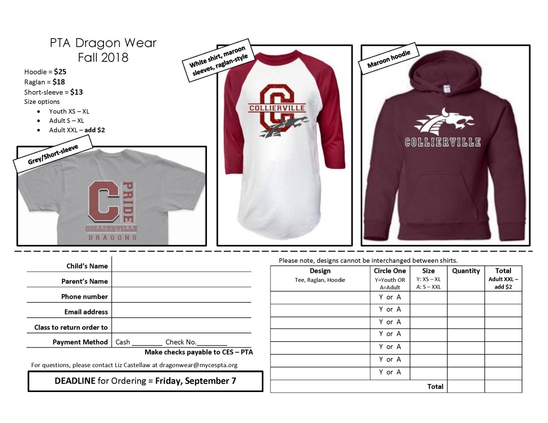 Dragonwear flyer_fall 2018